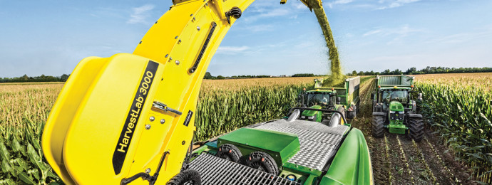 John Deere HarvestLab 3000_maize